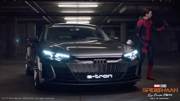 Electrifying Super Hero: Why Spider-Man Drives an Audi e-tron