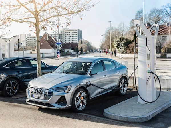 Audi is creating 4,500 e-car charging points