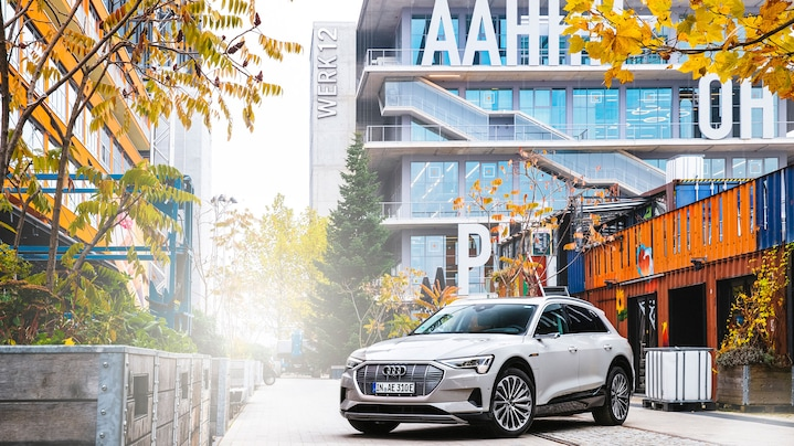 Audi in the Werksviertel district: on the road to sustainable mobility