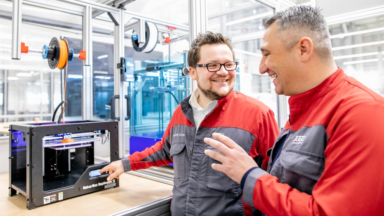 The Audi 3D printing experts