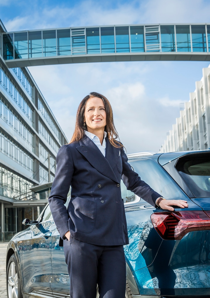 Representing gender equality in the workplace: Marianne Heiss, member of the supervisory board at AUDI AG.