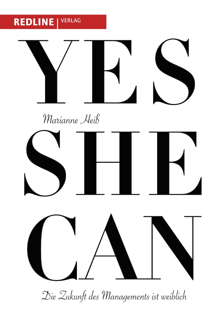 "Since publishing her book ""Yes she can"" in 2011, Marianne Heiss sees ""a significant improvement in gender equality since 2011 — no more than that, but also no less""."