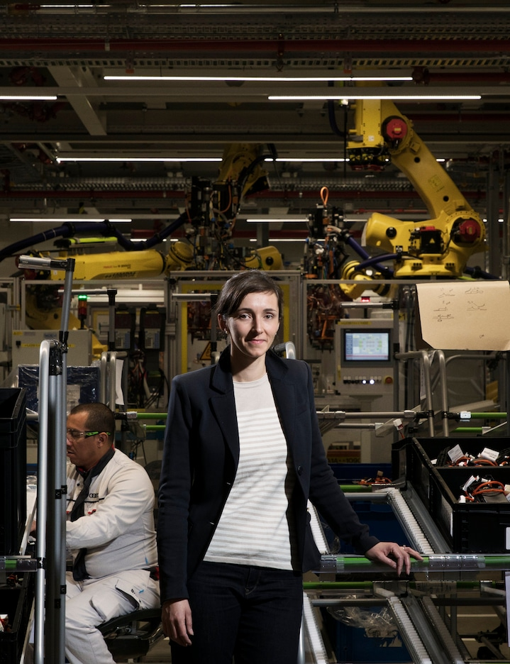 Daisy Itterbeek — Head of the battery manufacturing and chef