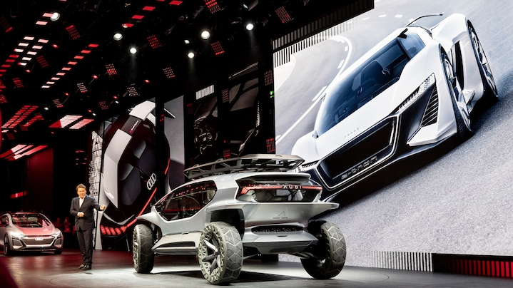 4 radical Audi concept cars for very unique situations