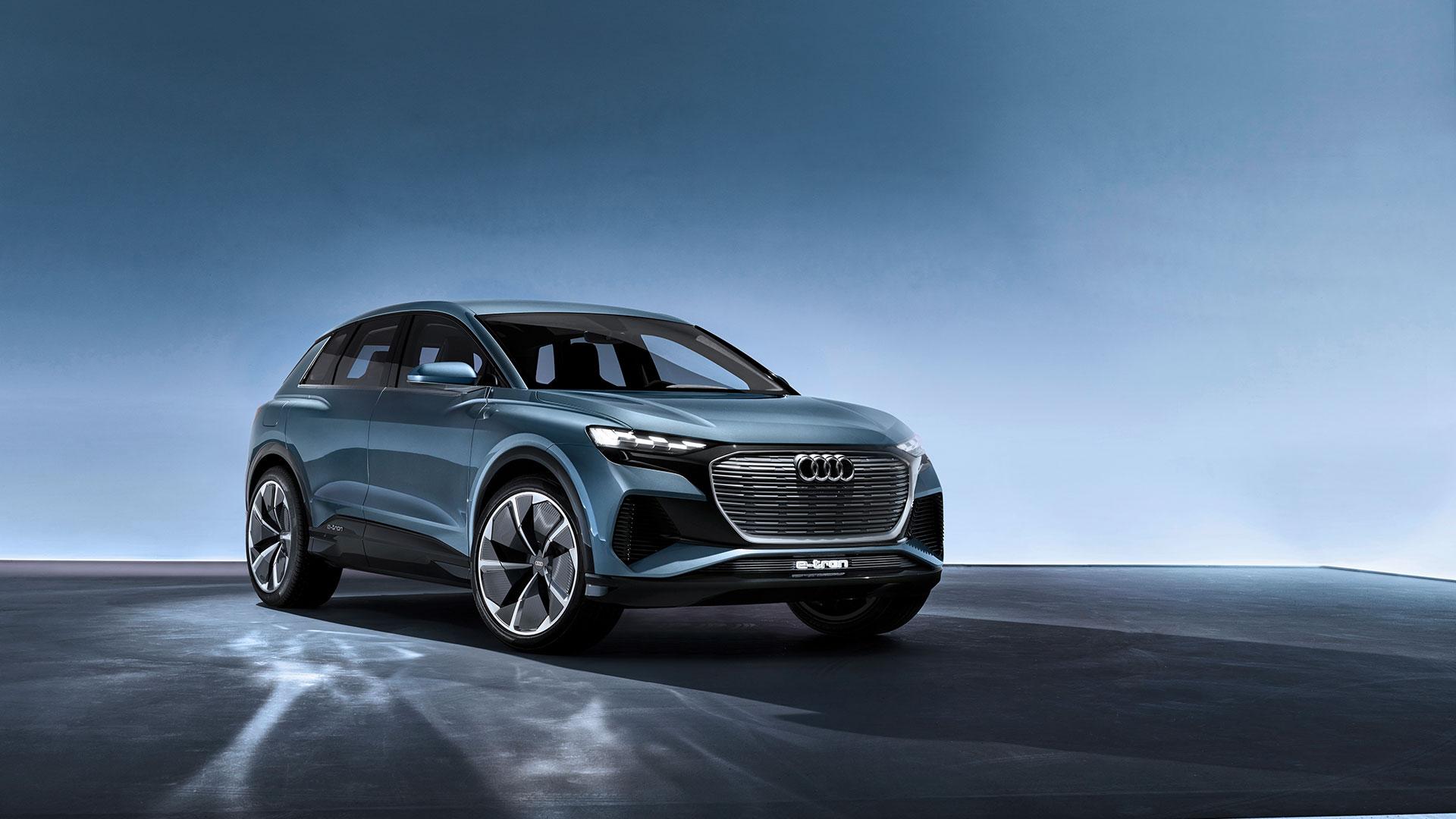Audi Q4 E Tron Concept