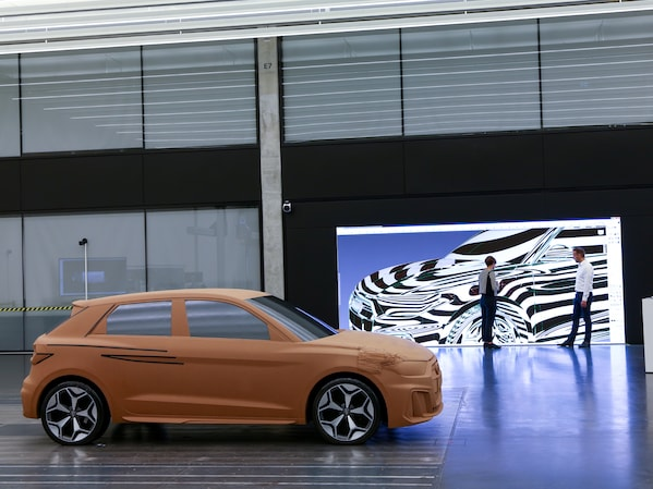 3D CAD: Computer-aided design for the A1 Sportback