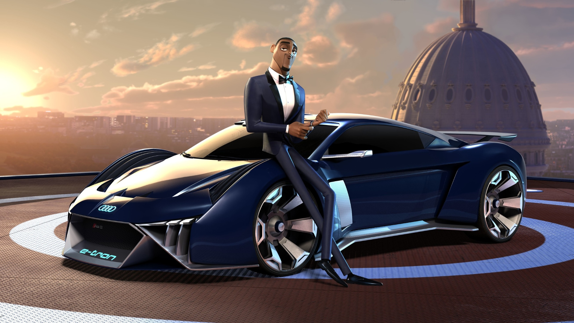 Spies In Disguise A Futuristic Animated Car Hits The Streets Audi Com