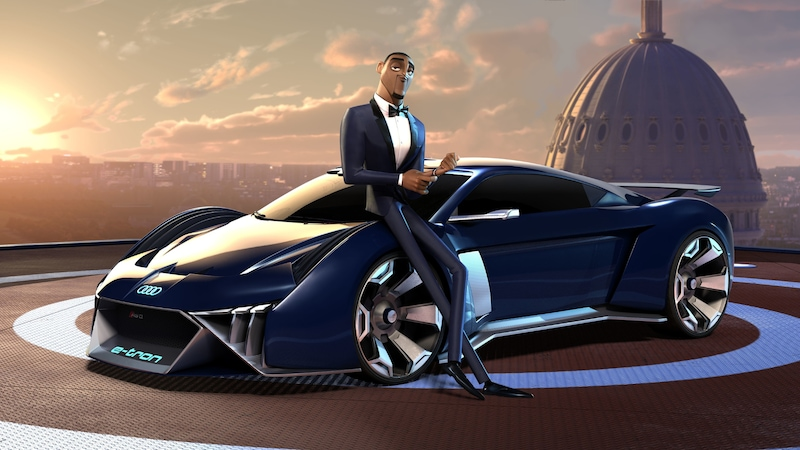 Spies in Disguise: a futuristic animated car hits the streets