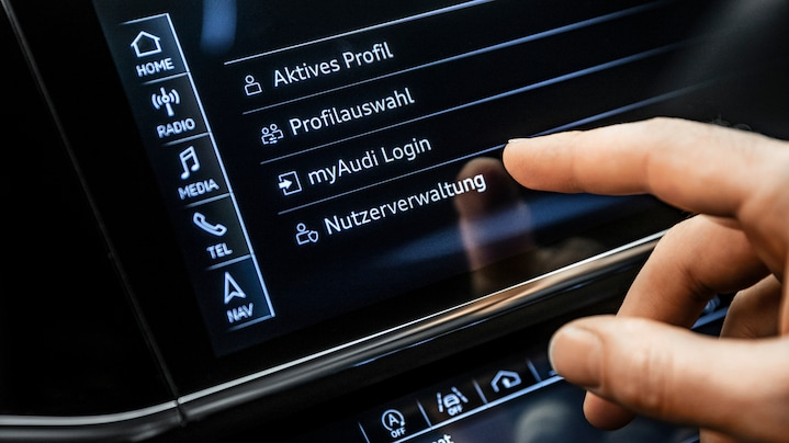MMI navigation plus incl. Audi connect: innovative navigation technology and first- class infotainment via natural language interaction.