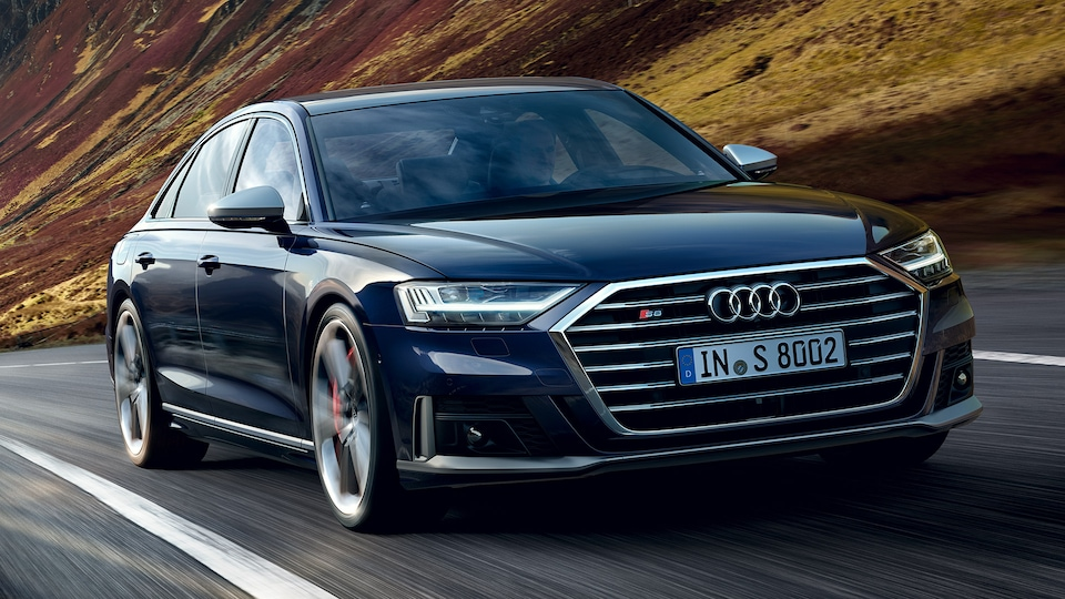 Luxury and sportiness: the Audi S8 TFSI