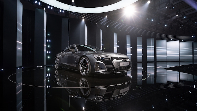 Welcome progress: raise the curtain for the Audi e-tron GT