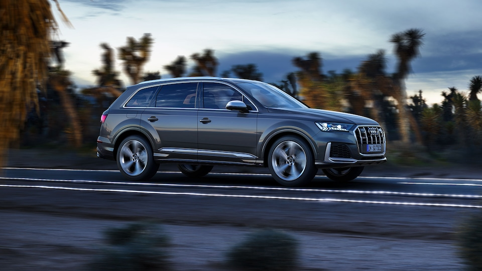 Powerful drive: The Audi SQ7