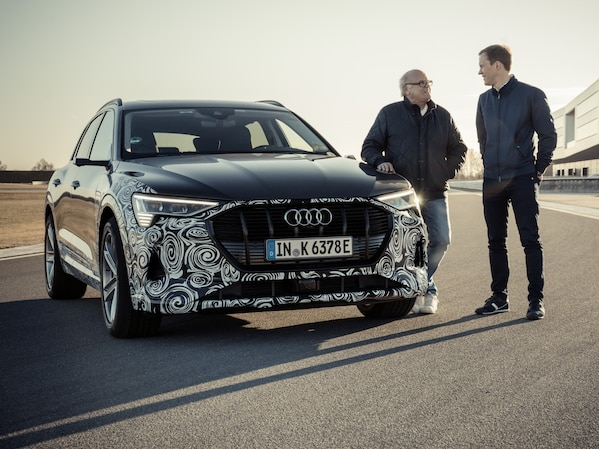 Two generations of quattro: an interview with Stig Blomqvist and Mattias Ekström
