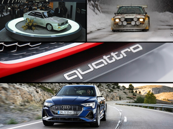 The legendary quattro celebrates its 40th anniversary